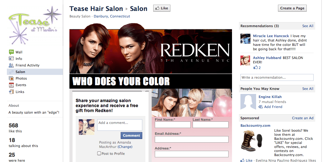 Salon Advertising Examples Related Keywords & Suggestions - Salon ...