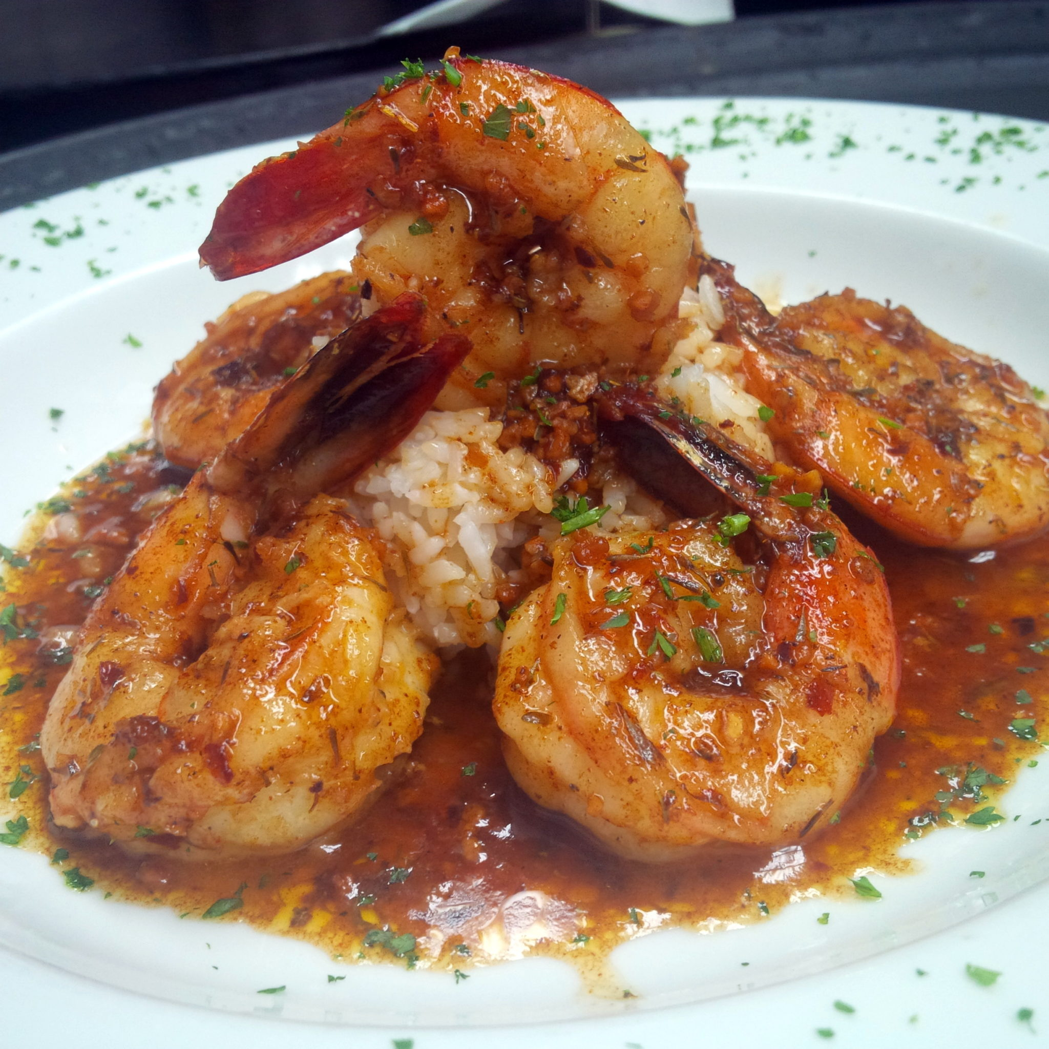 Bluegrass Louisiana BBQ Shrimp