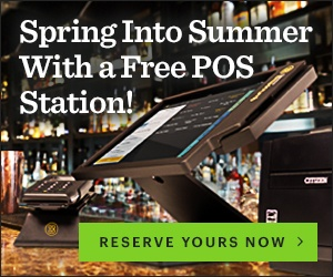 Spring Into Summer With a Free POS Station!