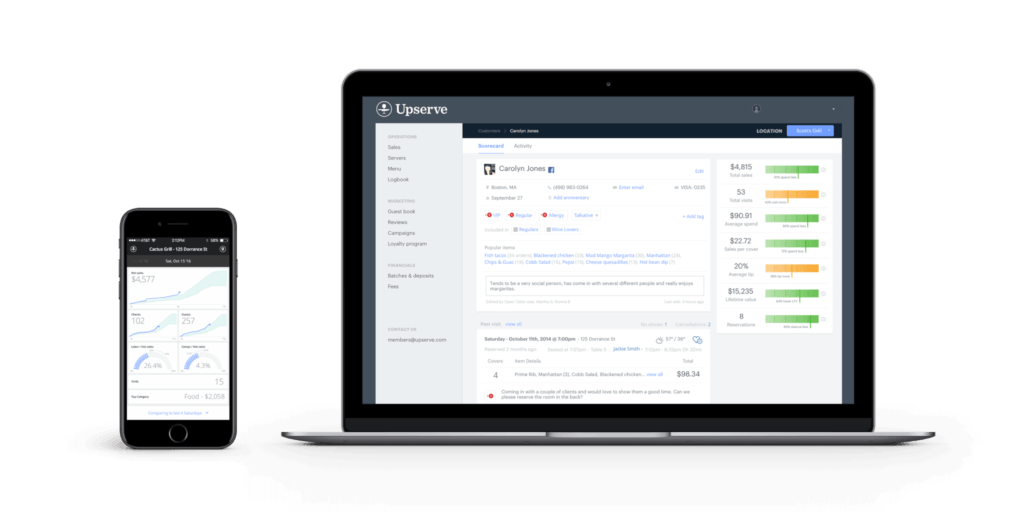 Upserve Live and Guestbook