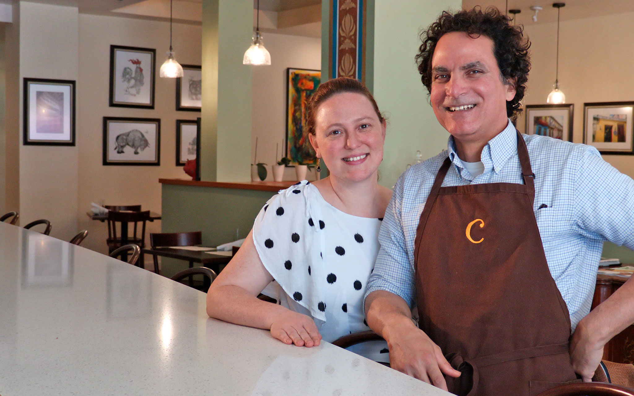 Elizabeth Matos and Roberto Capo Matos, co-owners of COPA