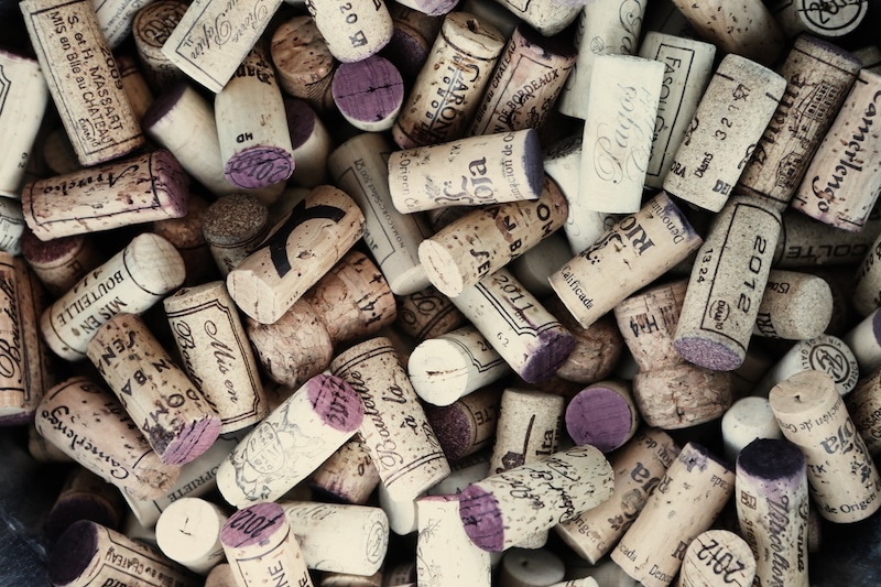 wine corks - Cork Restaurant 2015