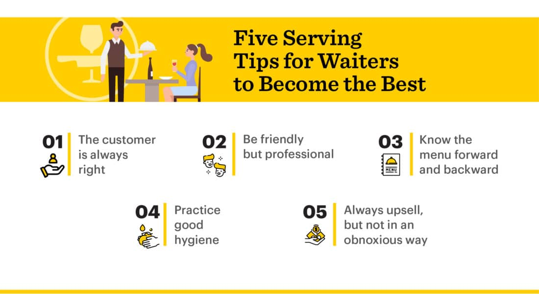 5 Serving Tips For Waiters | How to Become a Great Server