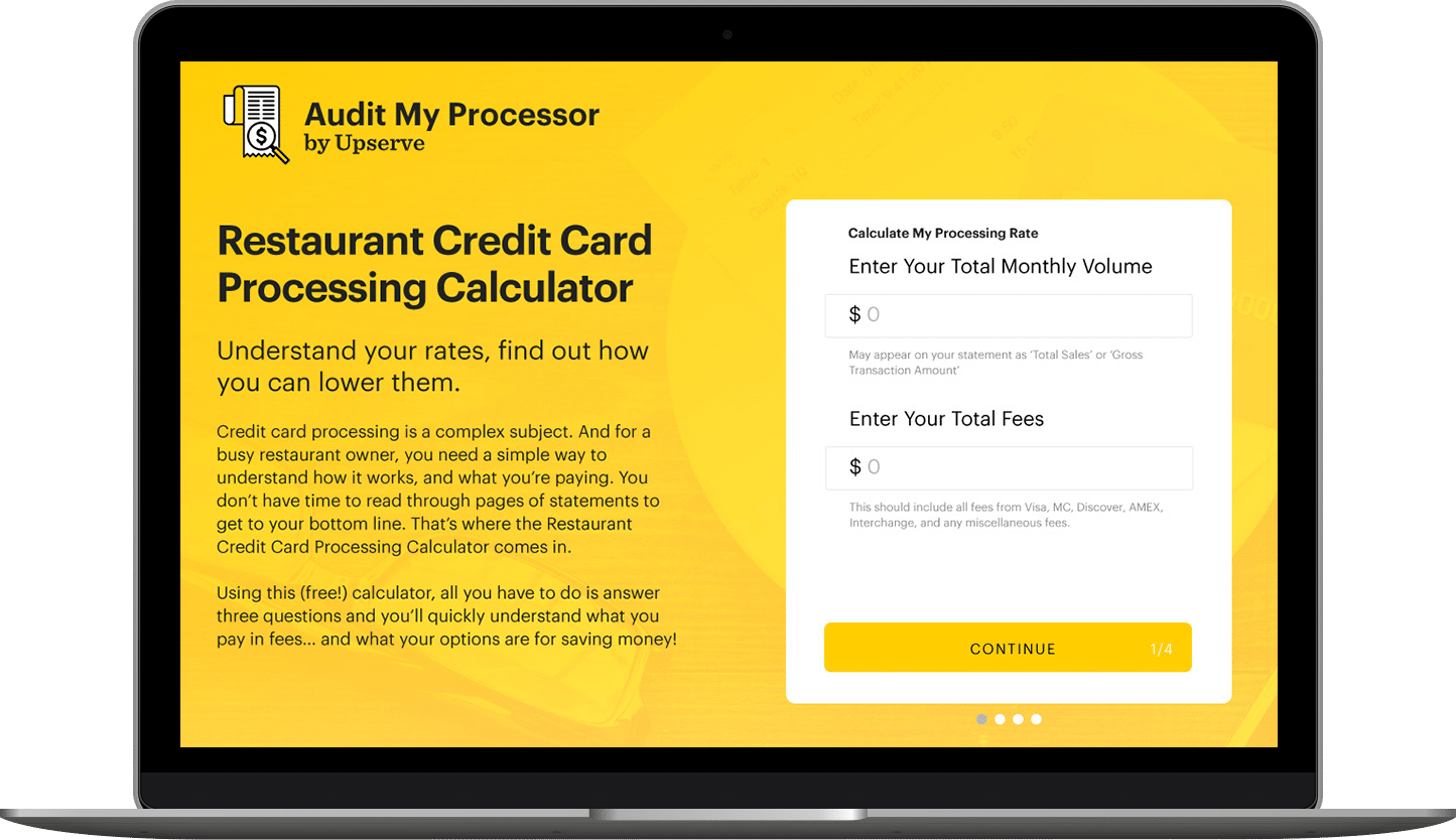 Audit Your Restaurant Credit Card Processing Rates
