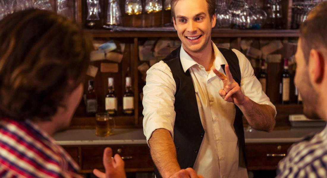bartender tricks for serving guests