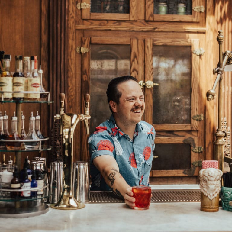 Bartender at Large Erick Castro