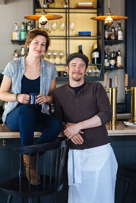 Bywater owners Katie and Brian O'Donnell. Photo Credit: Rupert Whiteley