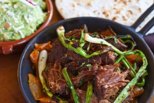 Carnitas from Cha Cha's Latin Kitchen Restaurant
