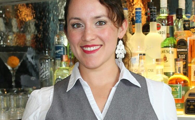 Christina Mercado restaurant bar mixologist