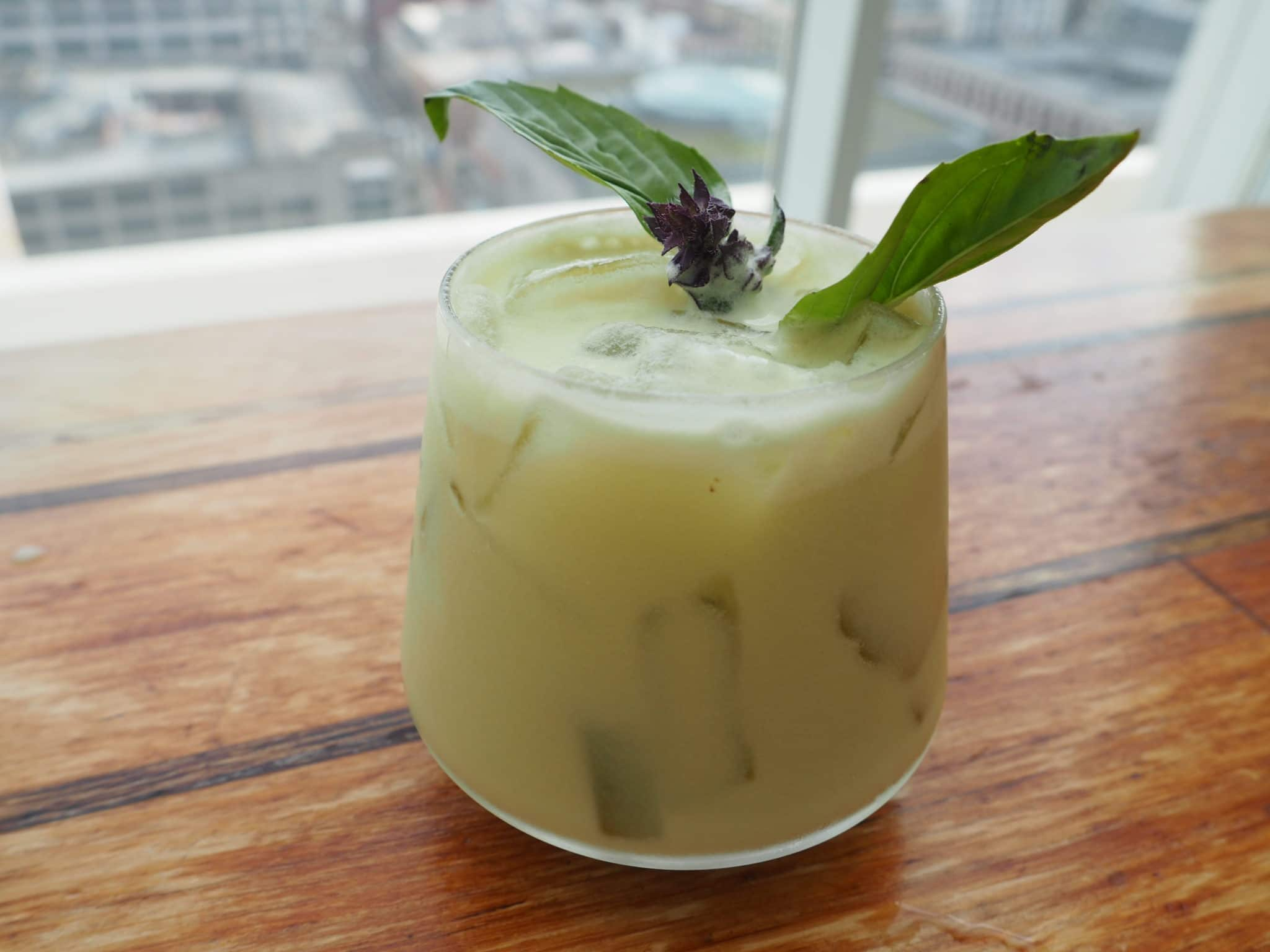 Yu the Great Departure mocktail