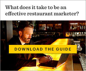 What does it take to be an effective restaurant marketer?