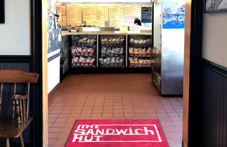 the sandwich hut interior