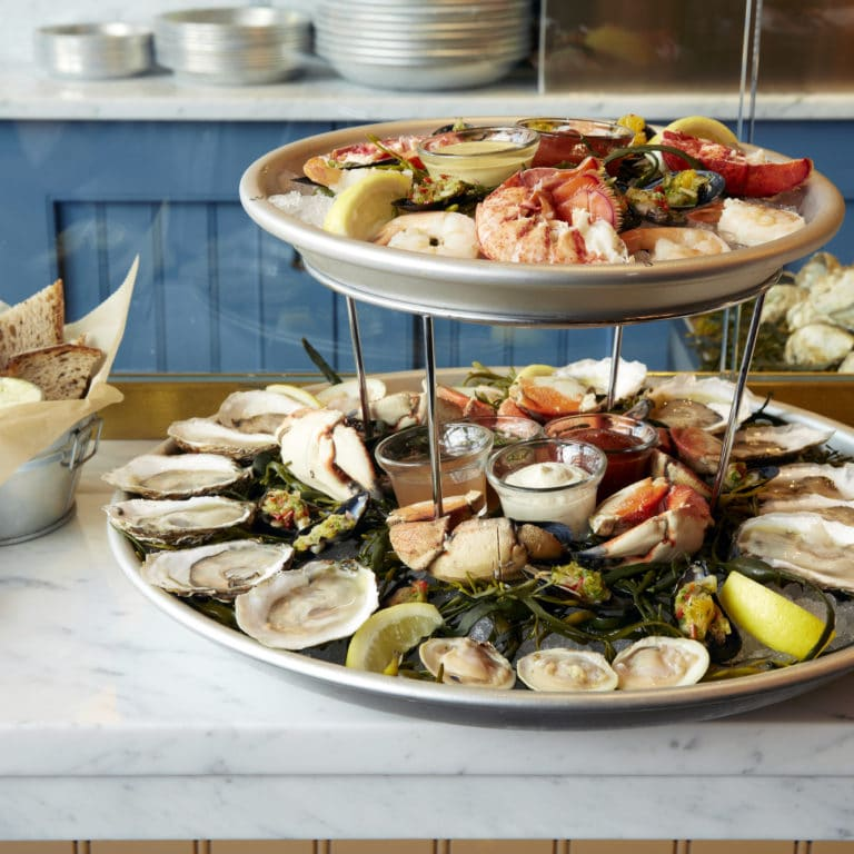 The Hourly Seafood Tower. PC: Joel Benjamin
