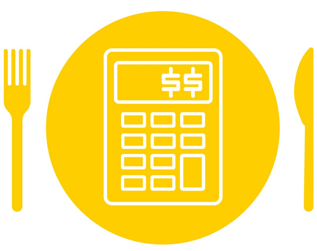 Restaurant Food Cost Calculator Icon