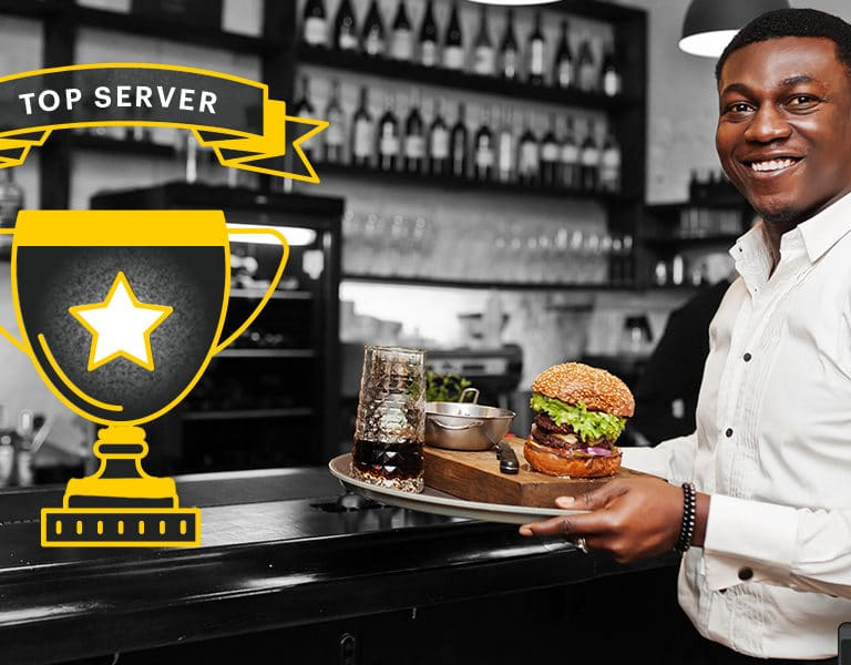 what does a restaurant server do