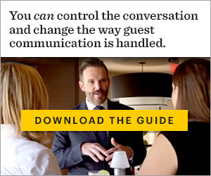 You can control the conversation and change the way guest communication is handled.