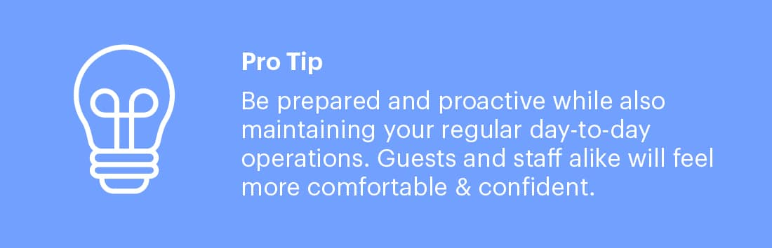 Restaurant Sanitation Tip