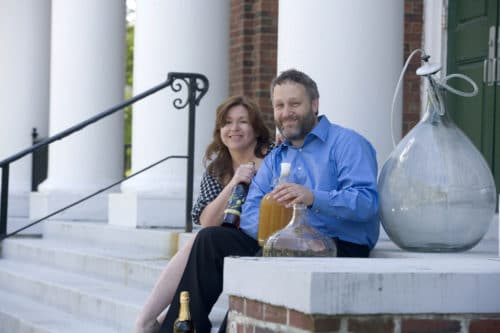 House Bear Brewing's Beth Borges and Carl Hirschfeld