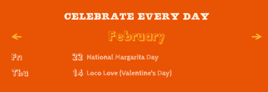 Loco Love Mexican restaurant promotion