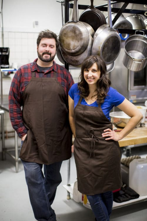 Josh Kulp and Christine Cikowski of Honey Butter Fried Chicken. Photo Credit: Tim Musho