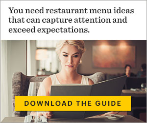 RIAD20024 - You need restaurant menu ideas that can capture attention and exceed expectations.