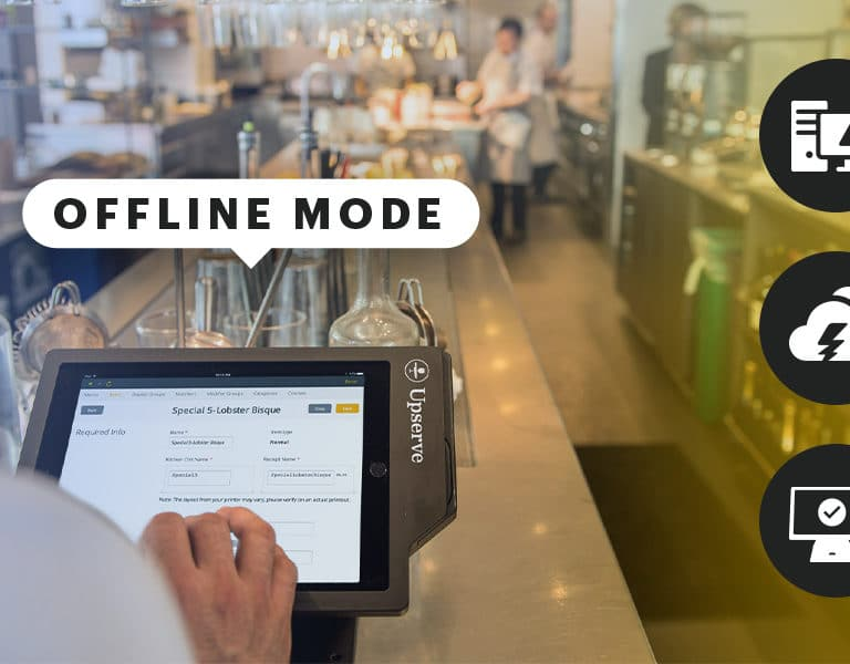 restaurant POS offline mode