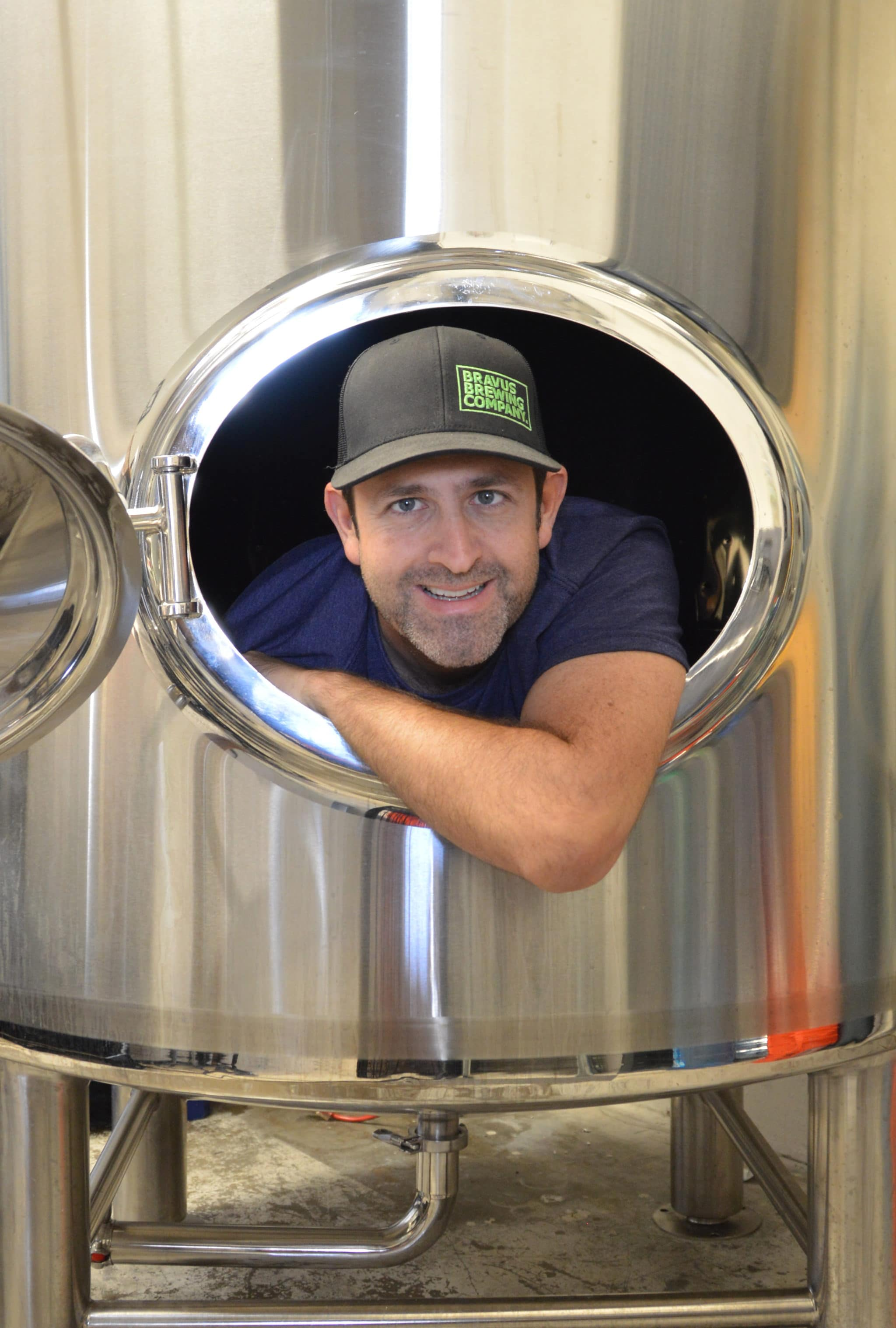 Philip Brandes, founder of Bravus Brewing Company