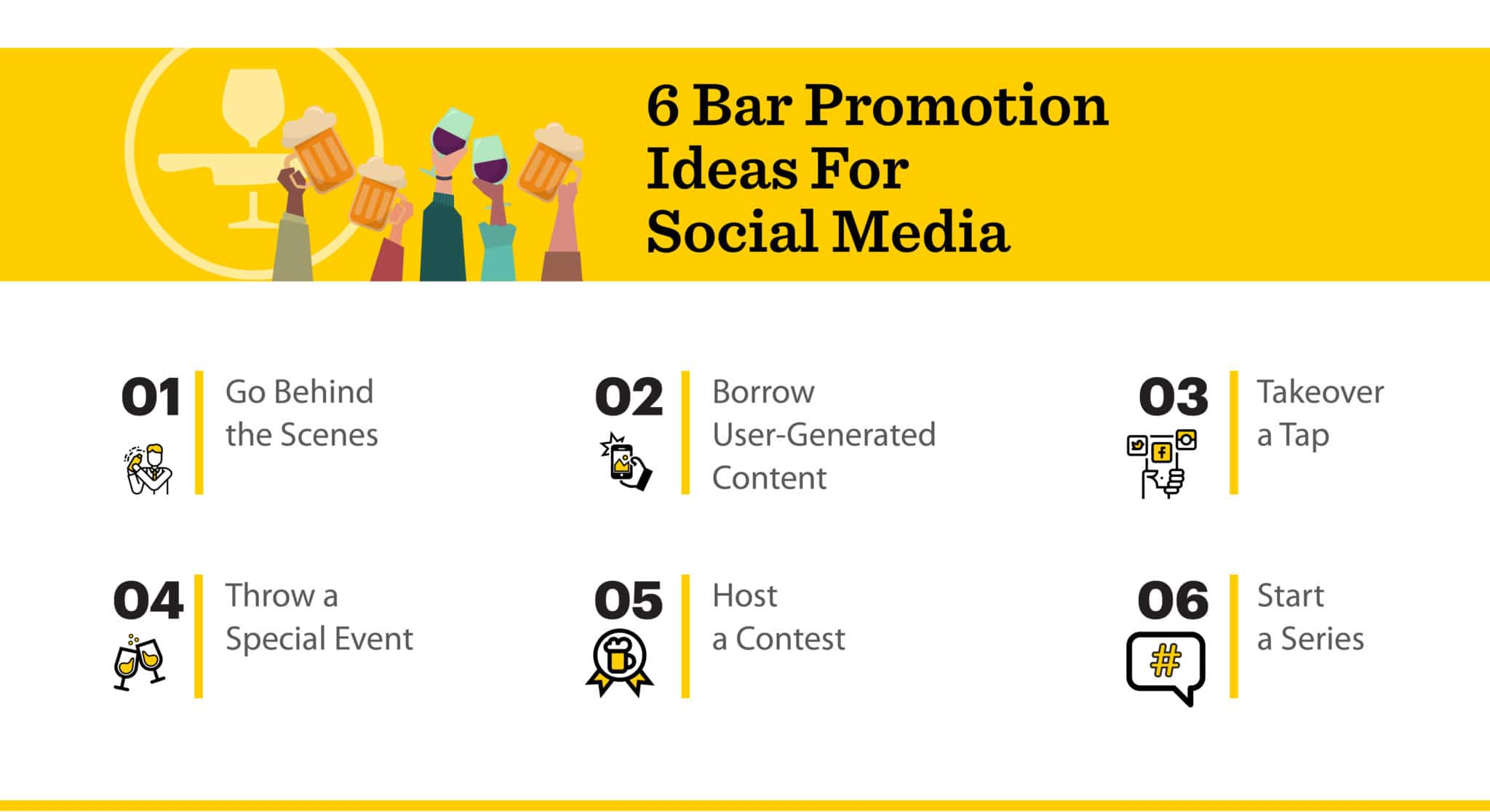 Promote your bar on social media