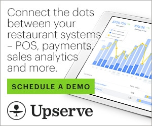 RIAD20034 - Upserve HQ — Connect the dots between your restaurant systems — POS, payments, sales analytics and more