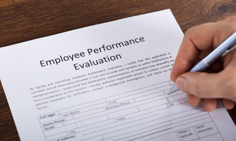 Restaurant Employee Evaluation Form