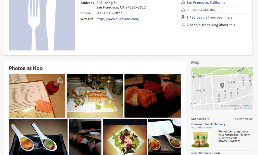 8 easy ways to prepare pages for facebook open graph search forumfinder Images