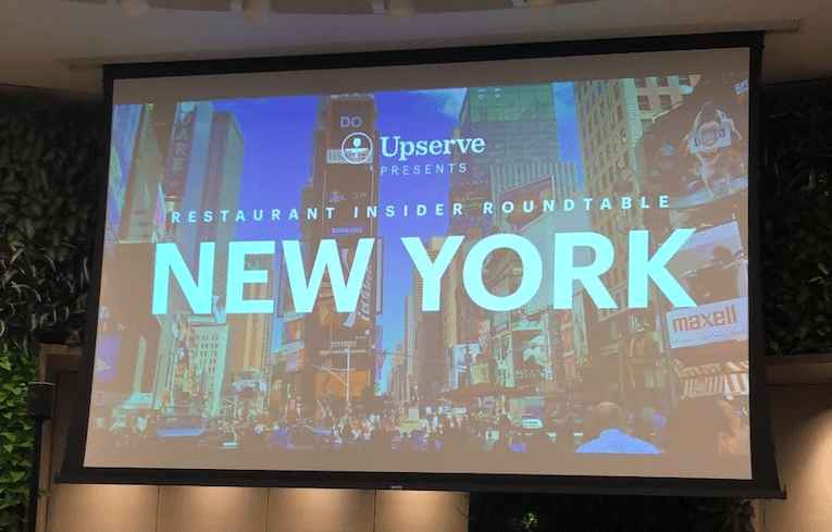 New York City Restaurant Insider Roundtable