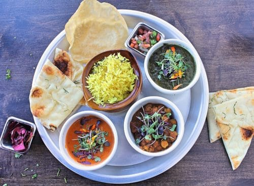 Thali From Curry Up Now