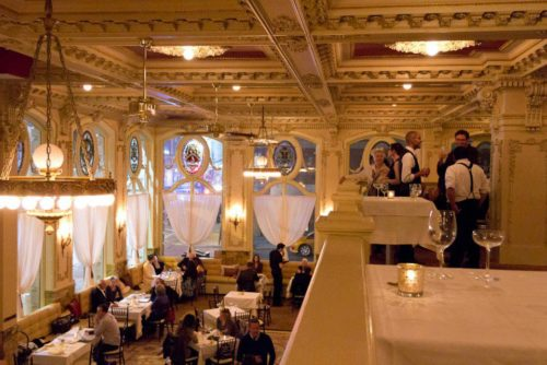 The Dorrance Restaurant Balcony