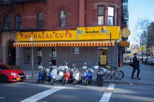 The Halal Guys' first brick-and-mortar location in New York City