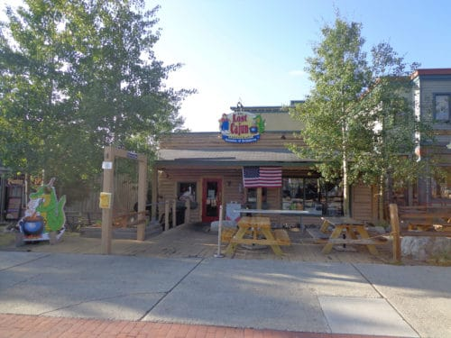 The Lost Cajun's first location in Frisco, Colorado