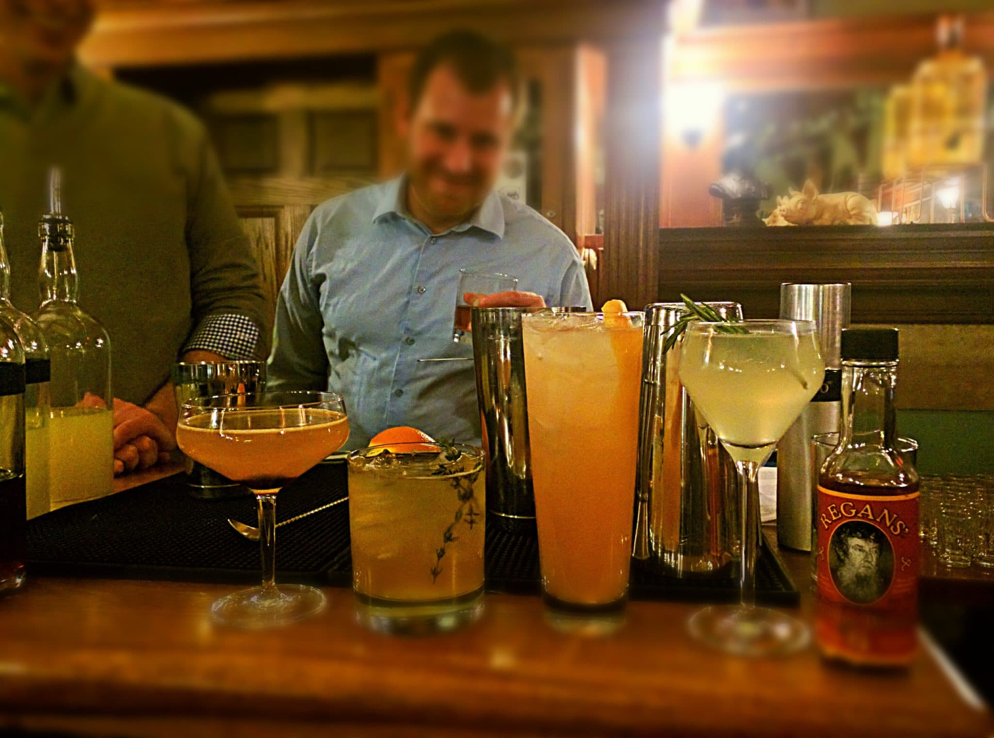 Cocktails from The Muddy Pig