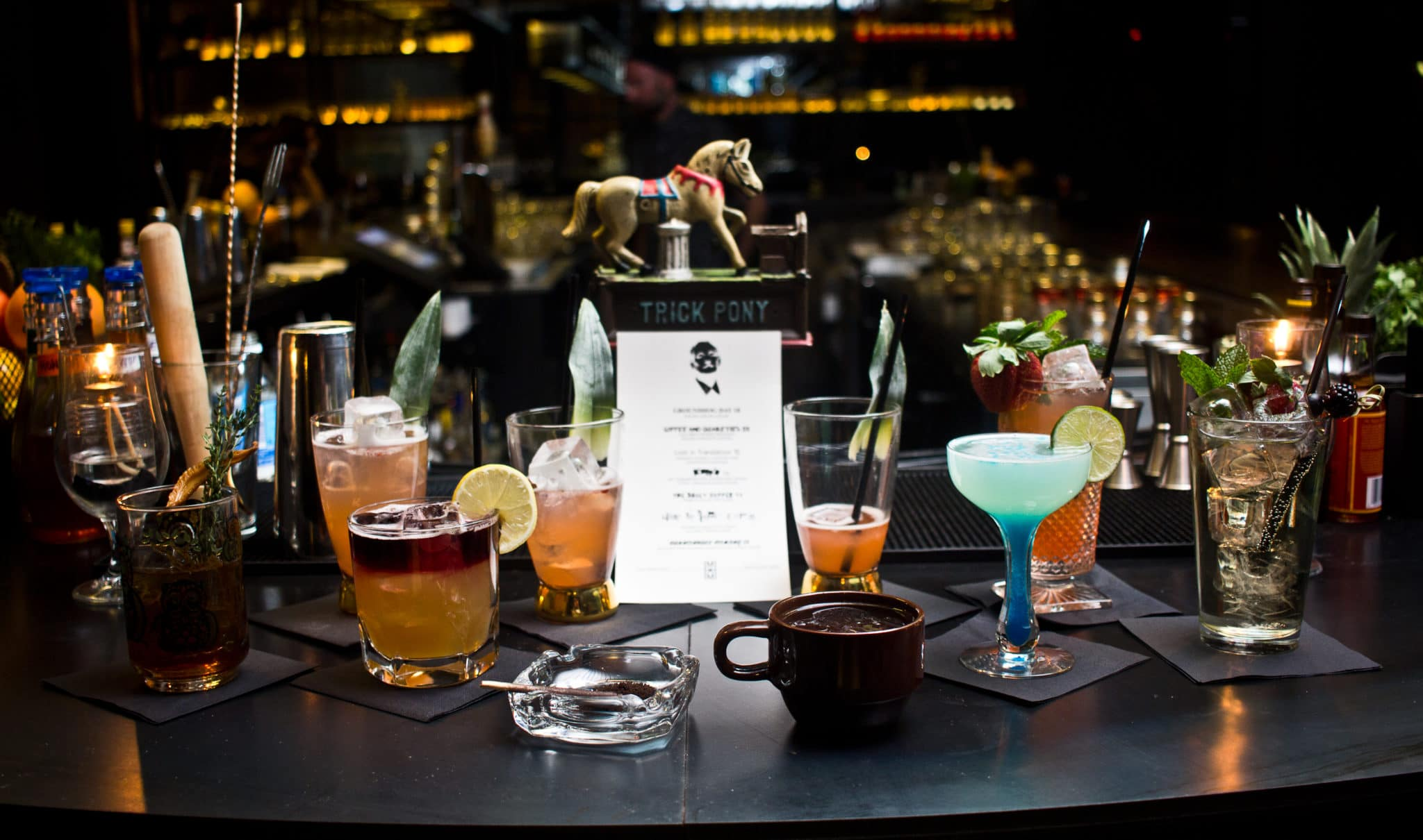 Trick Pony's Bill Murray-themed cocktails