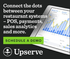 RIAD20038 - Upserve HQ — Connect the dots between your restaurant systems — POS, payments, sales analytics and more