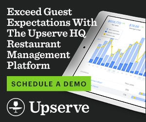 Exceed expectations with the Upserve HQ Restaurant Management Platform
