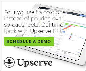 RIAD20010 - Pour yourself a could one instead of pouring over spreadsheets. Get time back with Upserve HQ.