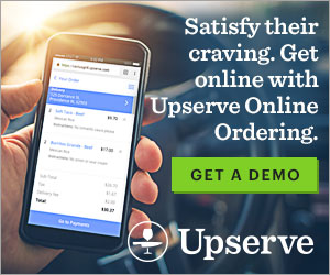 Satisfy their craving.Get online with Upserve Online Ordering.