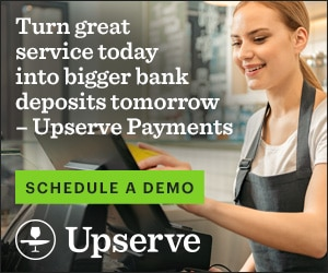 Turn great service today into bigger bank deposits tomorrow — Upserve Payments