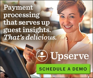 Payment processing that serves up guest insights. That's delicious.