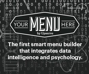 The First smart menu builder that integrates data intelligence and psychology.