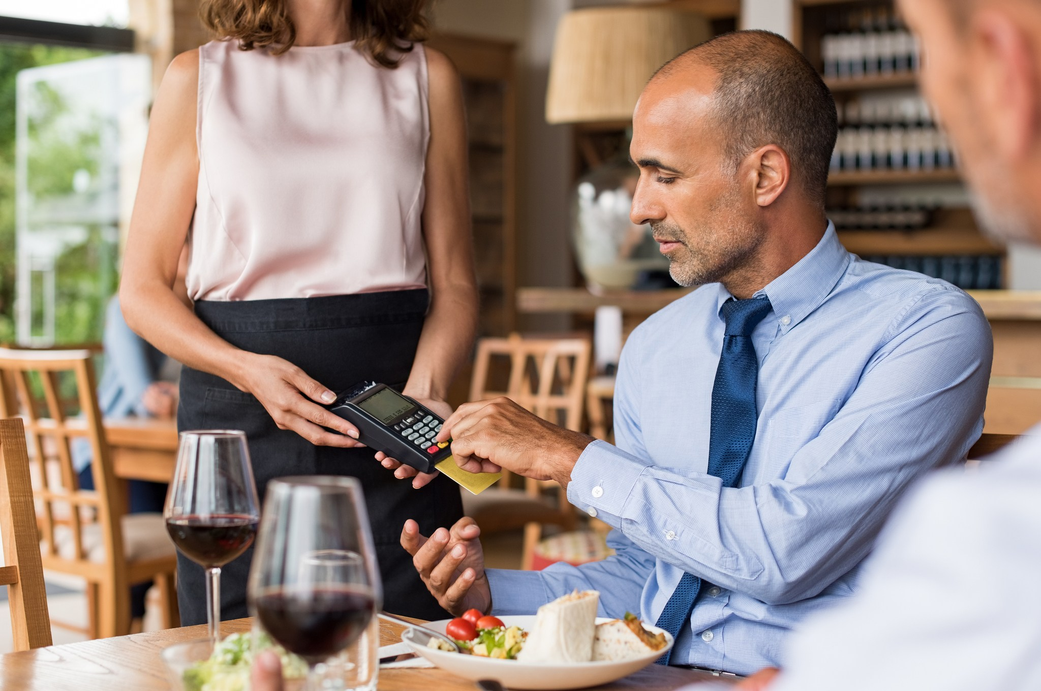 Waiter credit card reader EMV