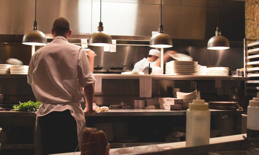 Busy Restaurant Kitchen chefs share struggles of overcoming addiction in the kitchen