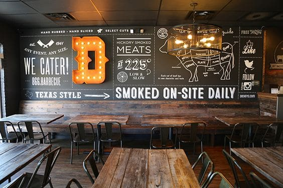 Barbecue Restaurant Decor : Restaurant decor ideas for