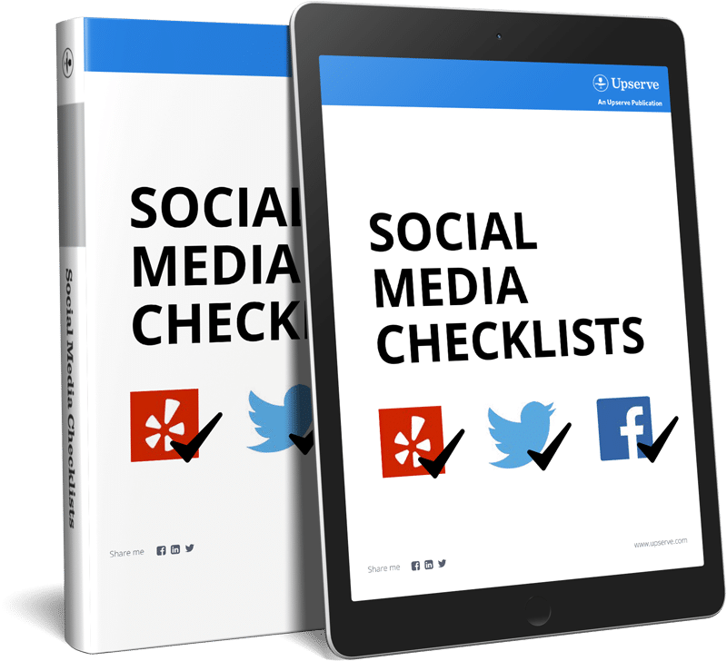 restaurant social media checklists for ebooks