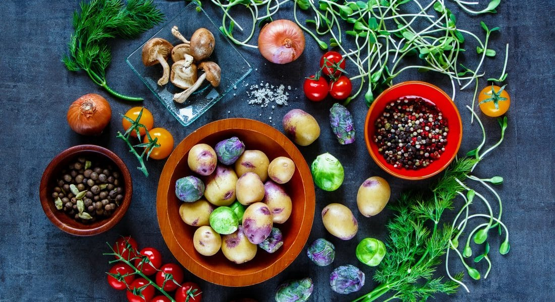 farm to table vegetables